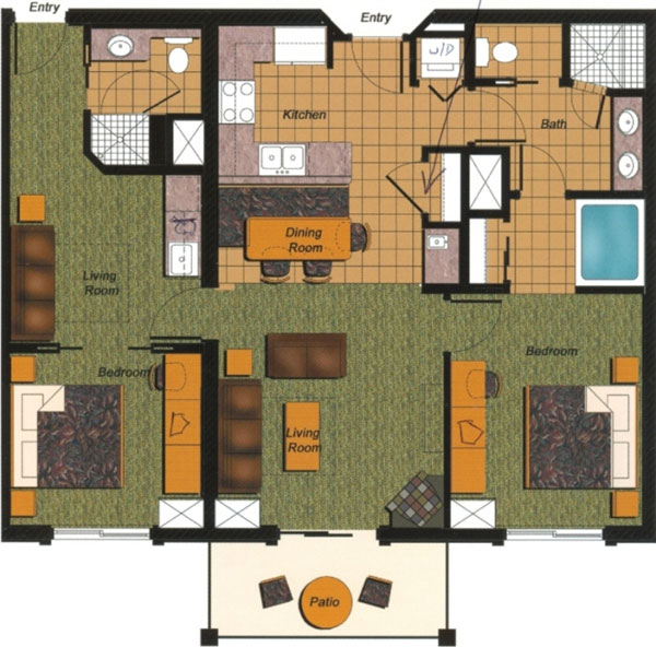 Westgate Palace Floor Plans: Westgate Condo Resort Rental At The Canyons In Park City Utah